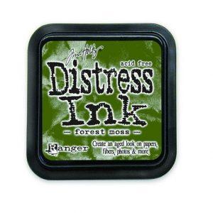 Ranger Distress Inks pad - forest moss