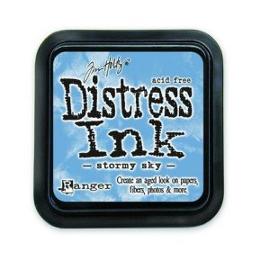 Ranger Distress Inks pad - stormy sky