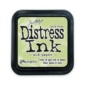 Ranger Distress Inks pad - old paper
