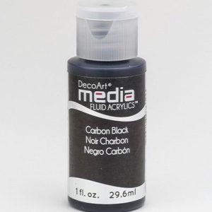 Mixed Media Acrylics Carbon Black