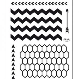 iva siliconen stempels hebben bijzonder fijne contouren. Ze zijn makkelijk te plaatsen, zijn zelfklevend op een acryl stempel blok, gemakkelijk te reinigen met water en herbruikbaar.