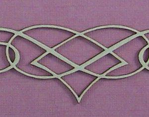 Chipboard Swirl stijl 9 klein