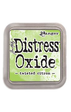 DIST OXIDE PAD 3 X 3, TWISTED CITRON
