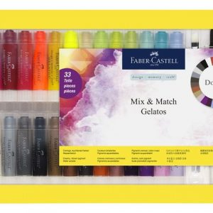 Faber Castell Mix & Match Gelatos 33pc