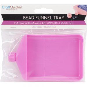 Craft Medley Bead Funnel Tray
