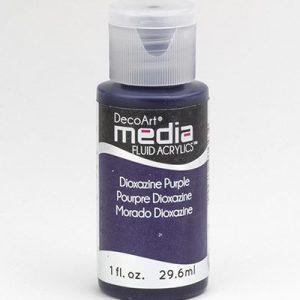 Mixed Media Acrylics Dioxazine Purple