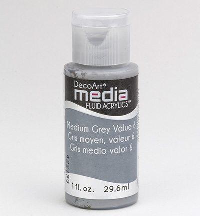 Mixed Media AcrylicsMedium Grey Value 6