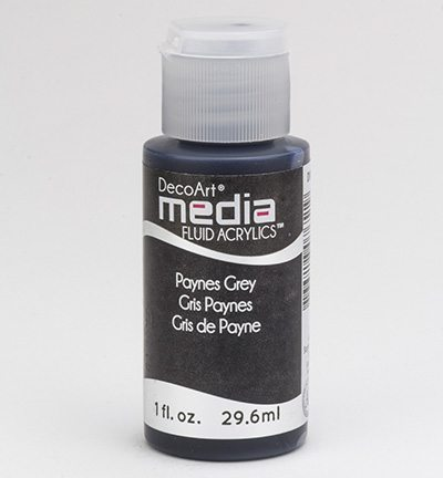 Mixed Media Acrylics Payne's Grey