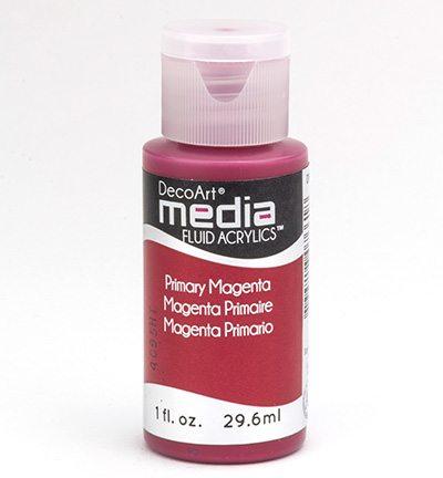 Mixed Media Acrylics Primary Magenta