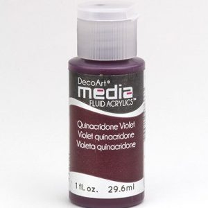 Mixed Media Acrylics Quinacridone Violet