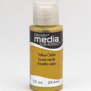 Mixed Media Acrylics Yellow Oxide