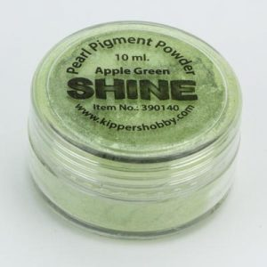 Shine Pigmentpoeder Apple Green
