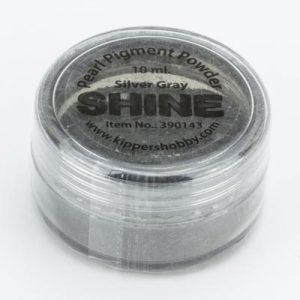 Shine Pigmentpoeder Silver Gray