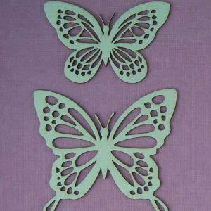 Chipboard Vlinders stijl 1
