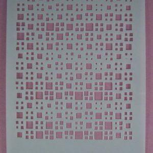 Stencil squares stijl 2