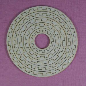 Chipboard set Gears Stijl 1 klein
