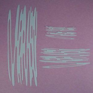 Mask Scribble set strepen