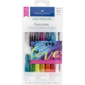 Faber Castell Gelatos Iridescents