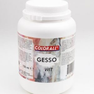 Colorall Gesso Wit 750 ml
