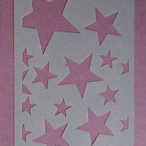 Stencil Stars Stijl 5