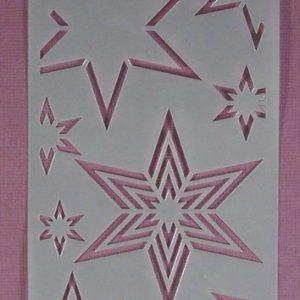Stencil Stars Stijl 4