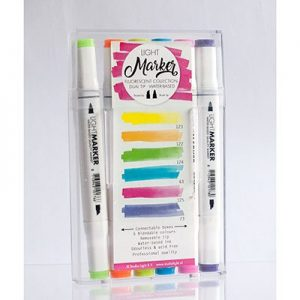 Water Based Dual Tip Markers Bright