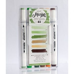 Water Based Dual Tip Marker Nature