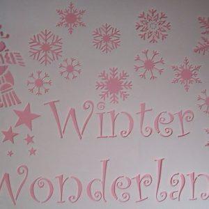 Stencil Winter Wonderland (xx-Large)