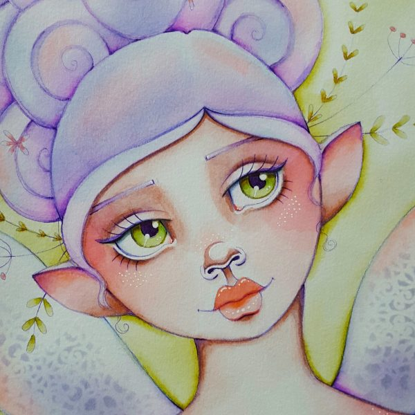 Workshop Spring Fairy by Marielle Stolp