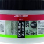 Amsterdam Extra Heavy Gel Medium Mat 250 ml