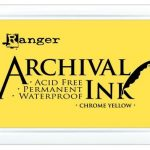 Archival Ink Chrome Yellow