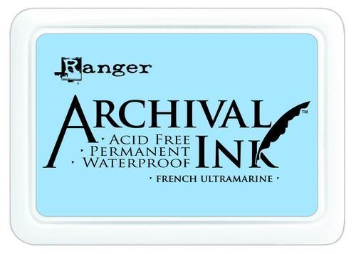 Archival Ink French Ultramarine