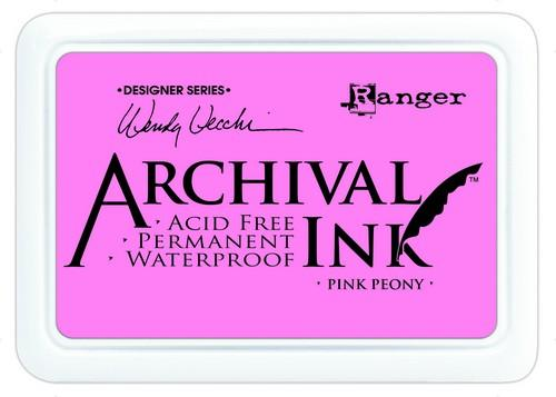 Archival Ink Pink Peony