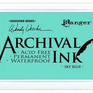 Archival Ink Sky Blue