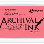 Archival Ink Tea Rose