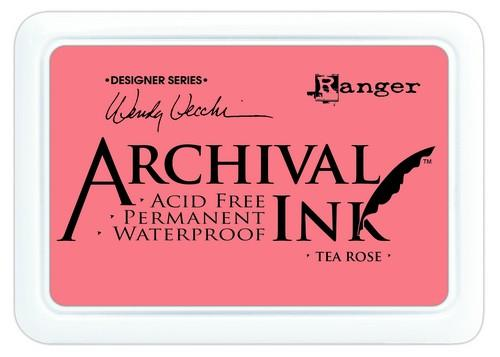Archival Ink Tea Rose