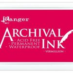 Archival Ink Vermillion