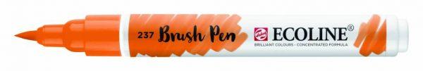 Talens Ecoline Brush Pen Donkeroranje