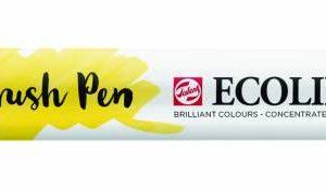 Talens Ecoline Brush Pen Lichtgeel