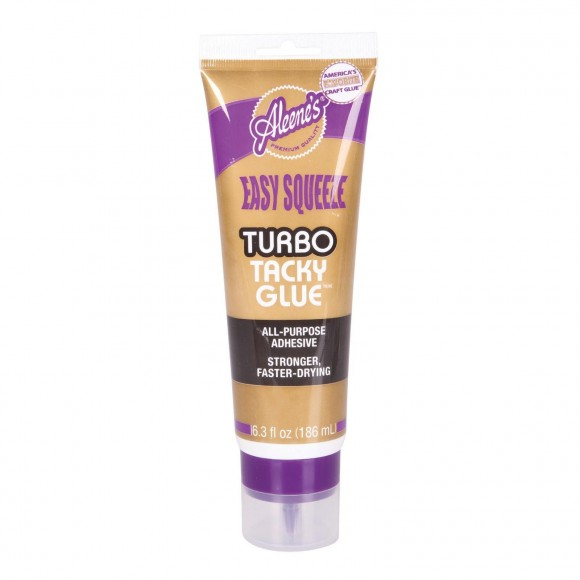 Aleene's easy squeeze turbo tacky glue 186ml