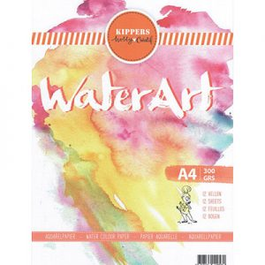 Aquarel Papier 12 sheets 300 gr
