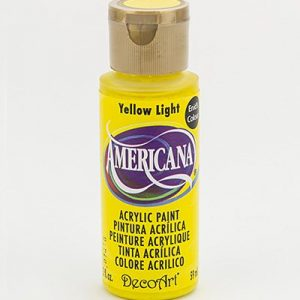 Deco Art Americana Yellow Light