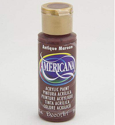 Deco Art Americana ANtique Maroon