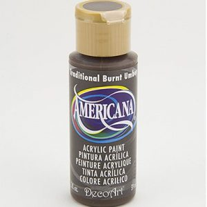 Deco Art Americana Traditional Burnt Umber