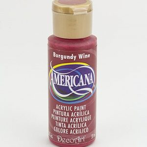 Deco Art Americana Burgundy Wine