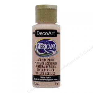 Deco Art Americana White Peach