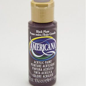 Deco Art Americana Black Plum