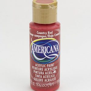 Deco Art Americana Country Red