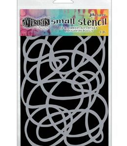 DY STENCIL, SQUIGGLE - SM LET OP PRE ORDER!!