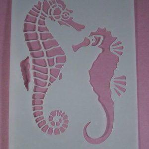 Stencil Zeepaard